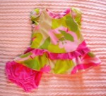 Hype Infant Baby Girl Ruffled Dress 3-6MTH