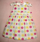 Greendog Baby Toddler Girl Polka Dot Dress 12MTH