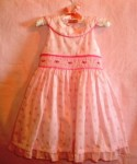 First Impressions Baby Toddler Girl Pink Dress 18MTH