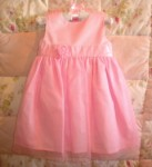 Carter's Baby Toddler Girl Pretty Pink Dress 18MTH