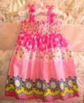 Blueberi Boulevard Baby Toddler Pink Print Dress 24MTH