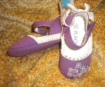 The Children's Place Infant Baby Girl Purple Shoes 3-6MTH