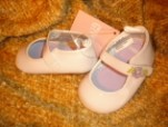 Gymboree Infant Baby Girl Dressy White Shoes Size 1