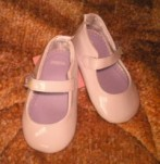 Gymboree Infant Baby Girl Dressy White Shoes Size 3
