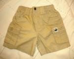 The Children's Place Infant Baby Boy Khaki Shorts 3-6MTH