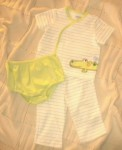 Little Me Infant Baby Boy 3PC Set w/Alligator 6MTH