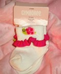 Gymboree Infant Baby Girl Snail Socks 0-3MTH