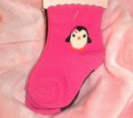 Gymboree Infant Baby Girl Penguin Socks 3-6MTH