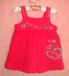 Sonoma Baby Toddler Girl Fancy Pink Tank Top 18MTH