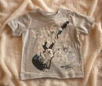 "Koala Kids Infant Baby Boy Lt. Grey ""Rock"" Shirt 3-6MTH"