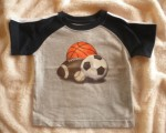 Jumping Beans Infant Baby Boy Grey Sports Shirt 6-9MTH