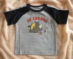 Jumping Beans Infant Baby Boy Blue Shirt w/Rhino 6-9MTH