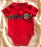 Jumping Beans Infant Baby Boy Red Onesie w/Truck 6-9MTH