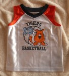 Jumping Beans Baby Toddler Boy White Basketball Tank 18MTH