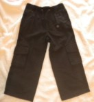 Gymboree Toddler Boy Black Pants with Pockets 3T