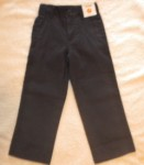 Gymboree Toddler Boy Navy Blue Linen Dress Pants 4T Slim