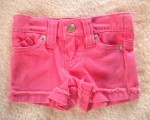 Amy Coe Infant Baby Girl Pink Shorts w/Pockets 0-3MTH