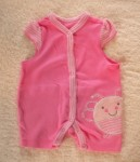 The Children's Place Infant Baby Girl Pink Bee Outfit 0-3MTH