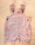 Sonoma Infant Baby Girl Light Purple Shortalls 0-3MTH