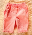 Jumping Beans Infant Baby Girl Pink Capri Pants 3-6MTH
