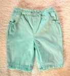 Jumping Beans Infant Baby Girl Aqua Blue Capri w/Bow 6-9MTH