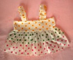 Baby Gap Infant Baby Girl White Summer Top w/Polka Dots 6-12MTH