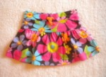 Carter's Baby Toddler Girl Bright Floral Skirt 12MTH