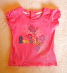 Levi's Baby Toddler Girl Pink Top w/Flowers 12MTH