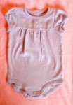"Gymboree Baby Toddler Girl Purple ""daddy's princess"" Onesie 12-18MTH"