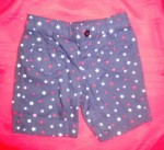 4th of July Jumping Beans Toddler Girl Blue Bermuda Shorts 2T