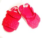 Gymboree Infant Baby Girl Red Shoes 3