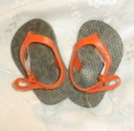 Baby Gap Infant Boy Camo Flip Flops 0-3MTH