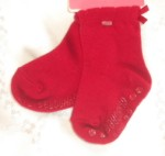 Gymboree Infant Baby Girl Red Socks 0-6MTH