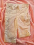 Greendog Baby Toddler Girl White Capri/Pants 18MTH
