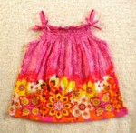 The Children's Place Baby Toddler Girl Pink/Orange Sleeveless Print Top 24MTH
