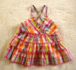 Koala Kids Baby Toddler Girl Plaid Strappy Top 24MTH