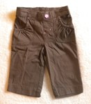 Jumping Beans Toddler Girl Brown Capri Pants 2T
