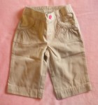 Jumping Beans Toddler Girl Tan Capri Pants 2T