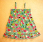 Jumping Beans Toddler Girl Teal Babydoll Top w/Hearts 3T