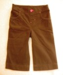Jumping Beans Toddler Girl Brown Capri Pants 3T